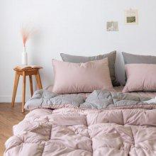 듀오 알러지케어 차렵이불 단품 싱글S (3colors) 핑크