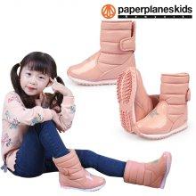 PK7794 아동 패딩 부츠 운동화 핑크:150