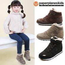 PK7842 아동 털운동화 겨울 부츠 패딩 블랙:150