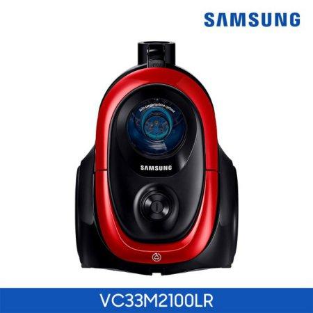 싸이클론 청소기 VC33M2100LR 바이탈리티 레드 [엉킴방지 / 3중 청정 클린시스템 / 이지그립 핸들]