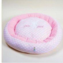(지엠펫) 바니 쿠션방석 - 핑크(대) 애완용품 W21AECB