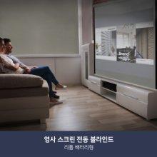 [충전식 전동 블라인드] 영사스크린(210x210)