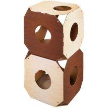 가리가리 쉘프(큐브2개 스크레쳐)-다크브라운 W1A4CF2