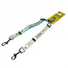 강아지 애견 쌍줄(15mm색상랜덤) 강아지용품 애견용품 W1A585B