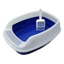 CF-S08B 평판형 고양이 화장실 모래삽(블루) W1B6133