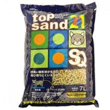 탑샌드21스퀘어(SQ) 두부_옥수수 모래(1구사각형) 7L_ W234C50