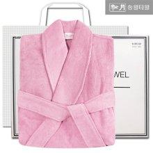 호텔 30수 샤워가운 인디핑크 선물세트 (박스+쇼핑백포함)