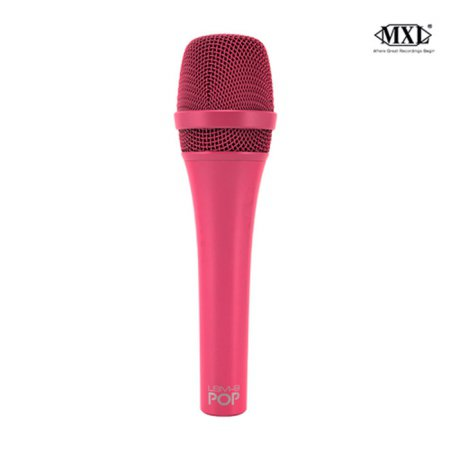 POP LSM-9 컬러 다이나믹 보컬 마이크 /핑크