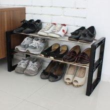 신발장신발정리대3단9족70Cm블랙