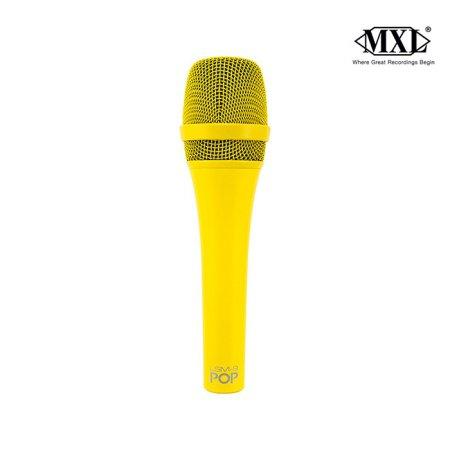 POP LSM-9 컬러 다이나믹 보컬 마이크 /옐로