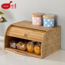 대나무 원목 브레드 박스 빵보관함
