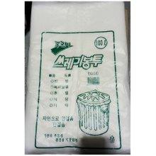 실속형 쓰레기봉투(흰색 100L 50매)1세트