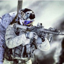 영화촬영용 MP 헌병 액션피규어 육군 동계훈련
