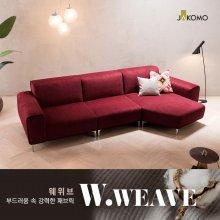 헥사곤 4인 카우치형 웨위브 소파 _CK001아이보리/좌형