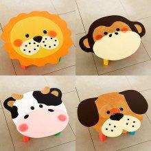 좌식책상 유아동 공부상 어린이집 캐릭터 과일동물 07.동물책상(원숭이)