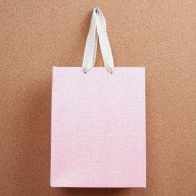 린넨 pattern 쇼핑백1개(디자인랜덤)(26cm)