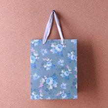 반짝이 펄 flower 쇼핑백1개(디자인랜덤)
