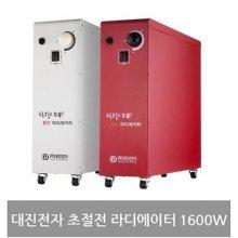 초절전 생활방수 라디에이터 FW-512R 레드