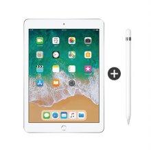 패키지할인 / 9.7형 iPad 6세대 WI-FI 32GB 실버 MR7G2KH/A + 1세대 애플펜슬