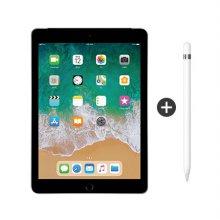 iPad 2월4주차 이후 발송) 패키지 할인 / 9.7형 iPad 6세대 LTE 128GB 스페이스 그레이 MR722KH/A + 애플펜슬 1세대