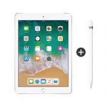 패키지 할인 / 9.7형 iPad 6세대 LTE 128GB 골드 MRM22KH/A + 애플펜슬 1세대