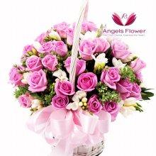 위드유 일반형 꽃바구니 전국꽃배달