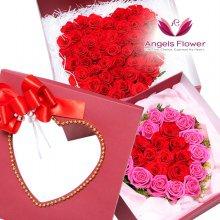 러브하트 일반형프리미엄꽃상자 전국꽃배달