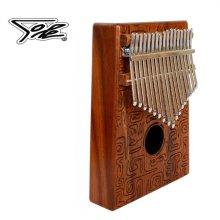 Sole SKK-17 DLX 솔리드 코아 / 17 음계 카림바 (손가락피아노 Thumb Piano)