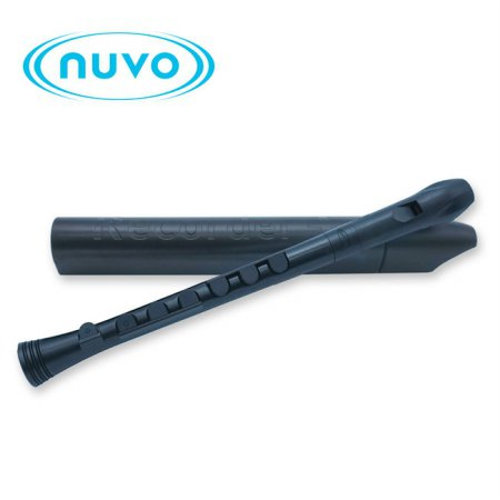 Nuvo 리코더 - Black / Black 저먼식 (N320RDBBK-G)