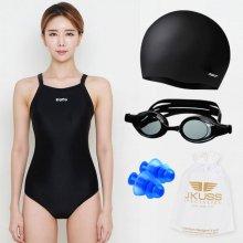 WUA994  5종 세트상품 HOOG 여자 수영복 80(S)