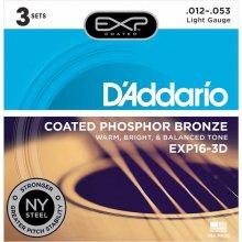 Daddario NY EXP16-3D (012-053) 다다리오 통기타줄 3팩
