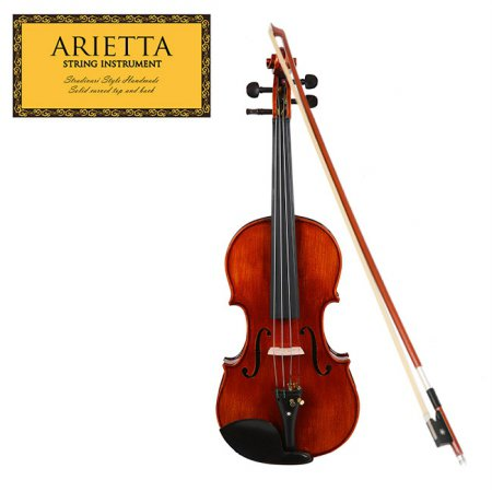 신학기 바이올린 특가 Arietta 아리에타 AVS101E 바이올린 4/4 사이즈 (유광)