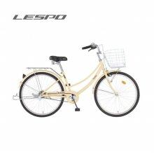삼천리자전거 18년식 선데이 1 26 레스포 여성용 자전거 아이보리:26