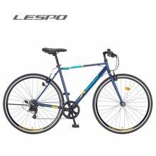 삼천리자전거 18년식 제오 7 700c 7단 레스포 하이브리드 자전거 다크 블루:440510