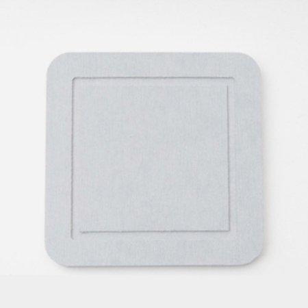 DONO 규조토 컵받침 사각형 그레이 101.002.06