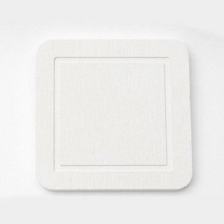 DONO 규조토 컵받침 사각형 화이트 101.002.07