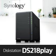 [에이블] DS218play [케이스] 2bay NAS 하드미포함
