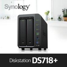 [4차오픈][2월특가][에이블] DS718+ [케이스] 2bay NAS 하드미포함