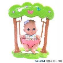 베렝구어 리틀큐티스 그네 아기인형 장난감 베렝구어_W01EBAB