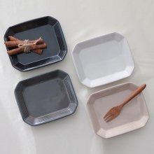테르 팔각접시(소)(4color) 라피스차콜