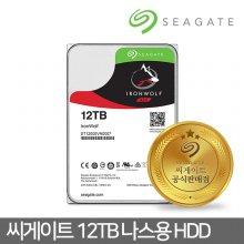 12TB IronWolf ST12000VN0007 NAS 서버 하드