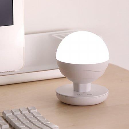 충전식 LED 무드램프 BALL PM-200 [밝기&빛색상 미세조절 / 눈부심 방지 / 내장형 벨트]