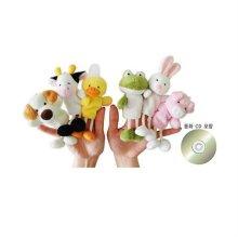 손가락인형 가축동물 6종+동화 CD_W1EEC71