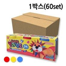 점토 도너랜드 칼라 1박스 60개 화방 만들기 재료