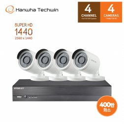 [L.POINT 10,000점 증정] 자가설치 400만화소 4채널 CCTV세트 SDH-C0404