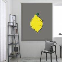 레몬-그레이 롤스크린 (R1288) 일반사이즈