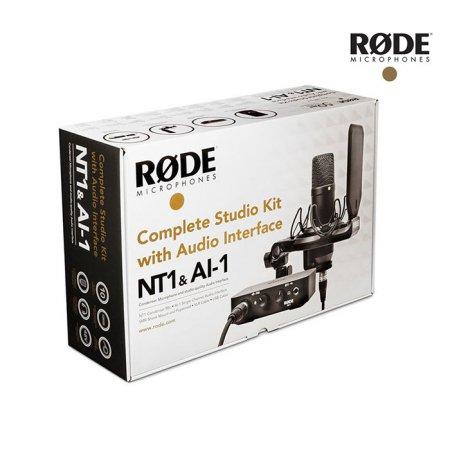 [비밀쿠폰10%+카드청구할인 중복사용가능] NT1 / Ai1 Complete Studio Kit 로데 스튜디오 패키지