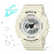 BA-110PP-7A 7ADR 7AER 여성 스포츠 손목 시계
