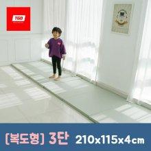 팡팡 폴더매트 (복도형 3단) 210x115x4cm 01_(복도형) 3단_크림