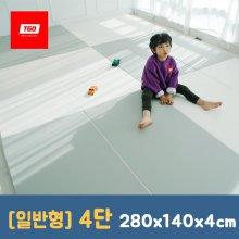 팡팡 폴더매트 (일반형 4단) 280x140x4cm 13_(일반형) 4단_크림